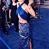 Few can forget the top Salma Hayek wore to the 1997 Los Angeles premiere of Batman & Robin.