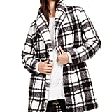 Calvin Klein Plaid Fleece Flyaway Jacket