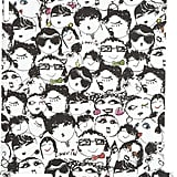 """We can't get enough of Lanvin's hardcover """"face"""" case — and neither will you.  Lanvin Face Print iPad 2 Case ($111)"""