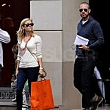 Reese Witherspoon carried an Hermés bag.