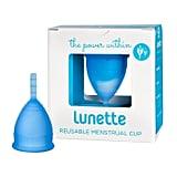 Lunette Reusable Menstrual Cup ($55)