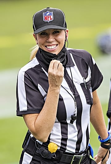 More Women Are Breaking Into Professional Sports Officiating