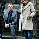 Naomi Watts and Tate Donovan filmed scenes for Three Generations in NYC on Tuesday.