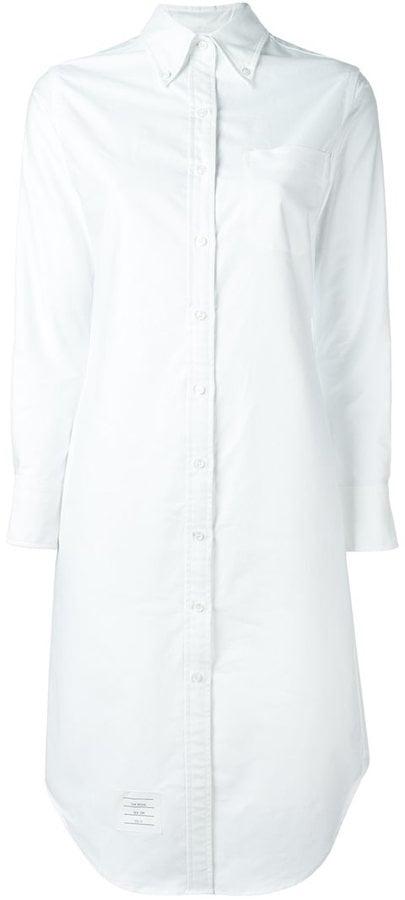 Thom Browne Knee Length Shirt Dress