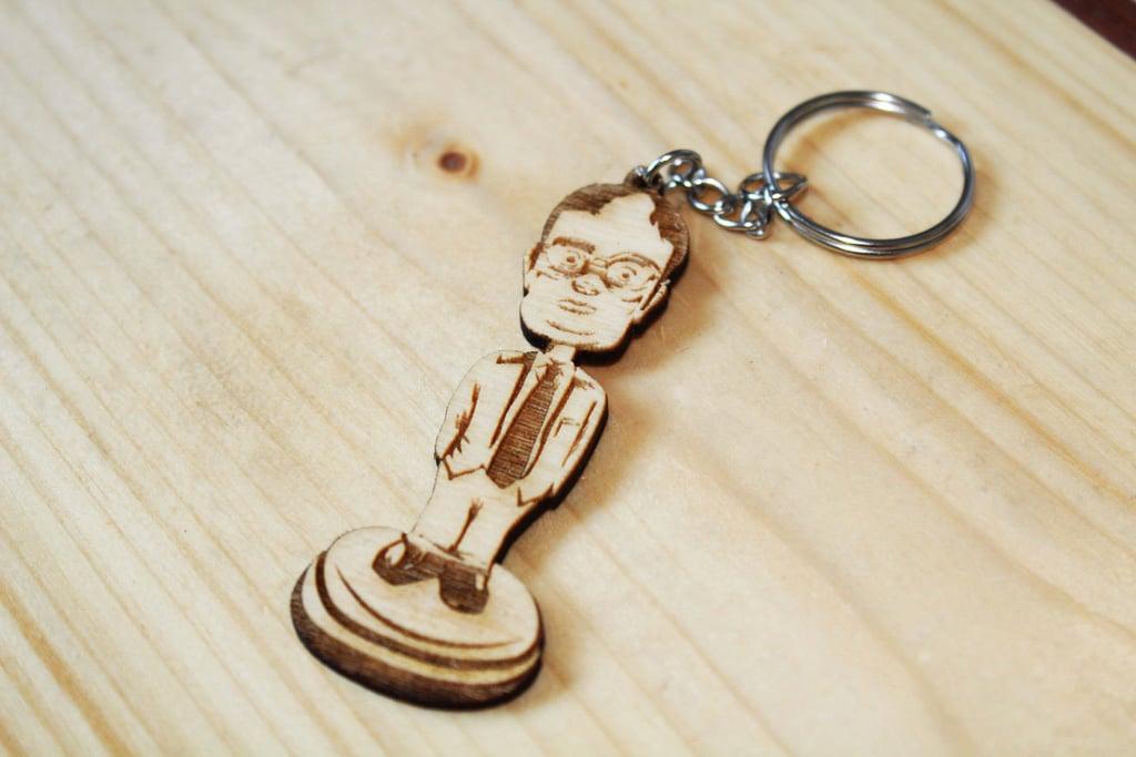 Dwight Schrute Bobblehead Keychain