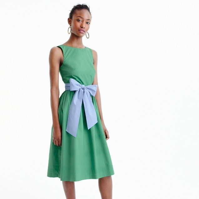 J.Crew A-Line Dress | Wedding Guest Dresses For Summer | POPSUGAR ...