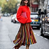 Sweater Dressing: On The Street