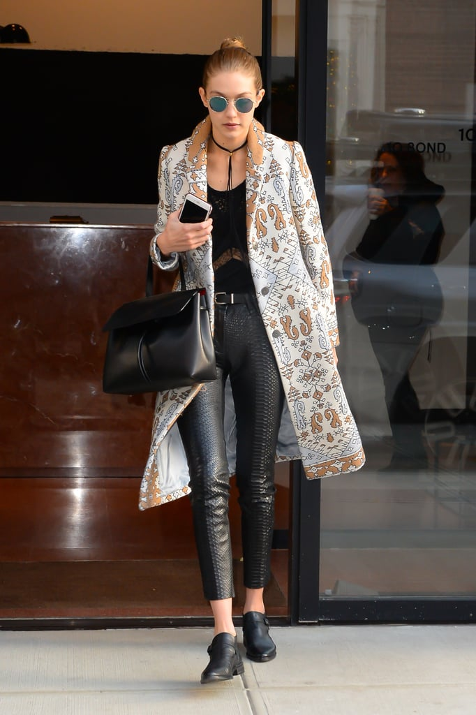 Gigi Hadid Was Spotted in NYC Carrying Her Mansur Gavriel Tote