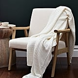 Boll & Branch Chunky Knit Throw Blanket