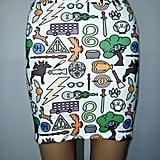 Wizardry Knit Skirt ($55)