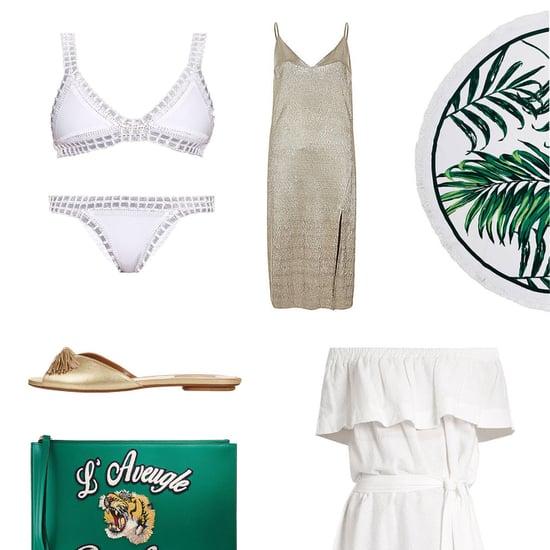 green gold australia day themed fashion
