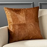 House Stark: Abele Brown Cowhide Pillow