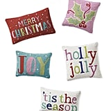 Merry and Bright Hook Pillows
