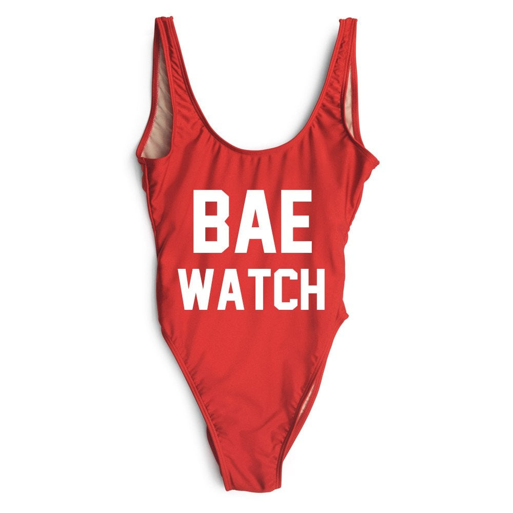 Private Party Bae Watch Swimsuit ($99)