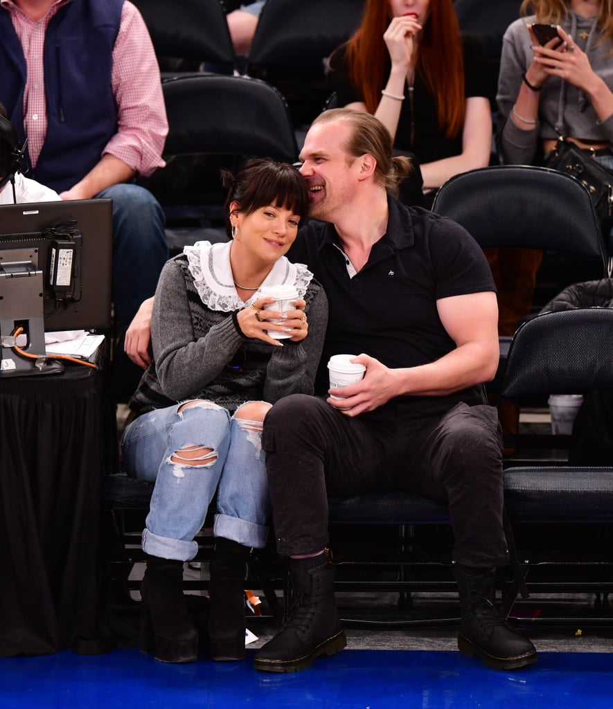 Lily Allen and David Harbour Relationship Timeline