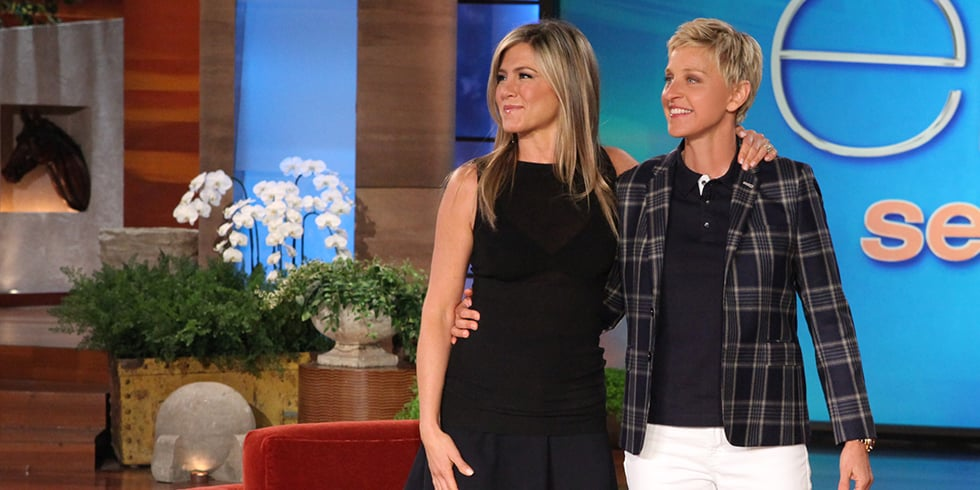 Video: Jennifer Aniston Tries Talk Show Hosting! How'd She Do?