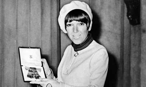 On One of His Inspirations, Mary Quant: