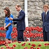 """Go see the poppy installation with Will and Kate, they said. It'll be fun, they said."""