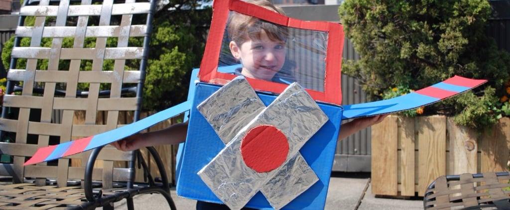 DIY Cardboard Box Halloween Costumes
