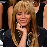 Beyonce Knowles was out in NYC.