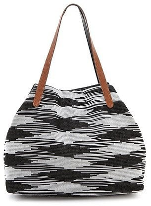 M Missoni's Space Dye Tote ($395) is the perfect size to stash your bikini and any beach essentials on weekends — but it would also look pretty amazing with a great sundress any day of the week.