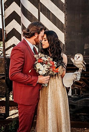 Harry Potter-Inspired Styled Wedding Shoot
