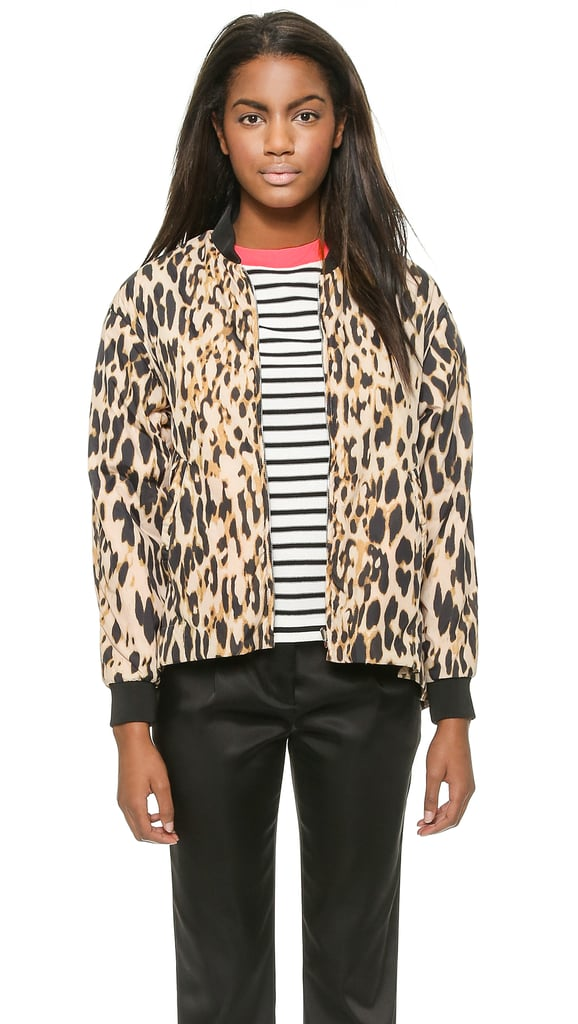 Sonia by Sonia Rykiel Leopard Jacket