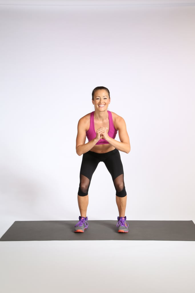 Glute Activation With Bands   POPSUGAR Fitness