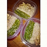 Chicken + Asparagus + Rice