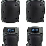 Kryptonics Pro Battleship Knee and Elbow Pad Set