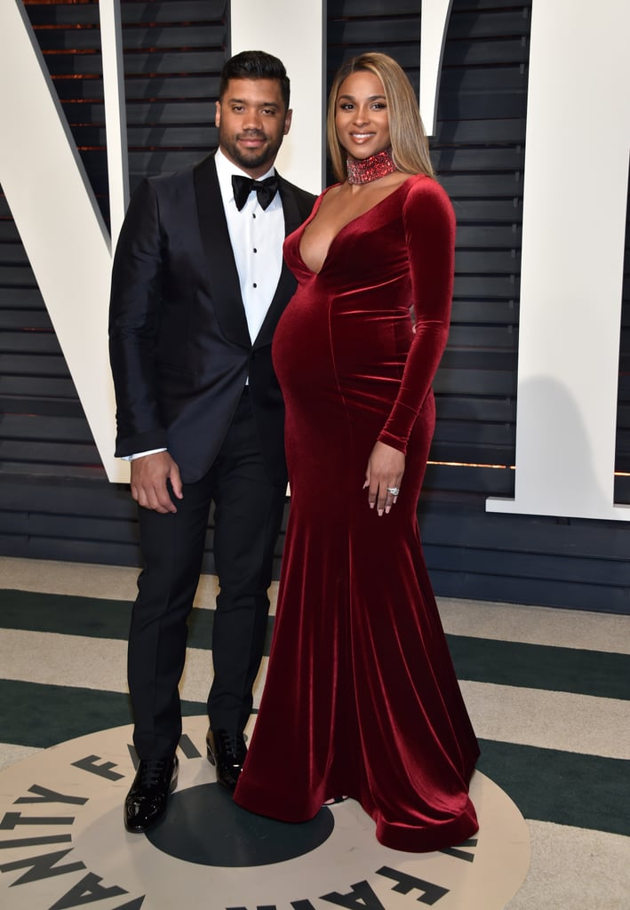 Ciara and Russell Wilson Attended Vanity Fair's Oscars Afterparty