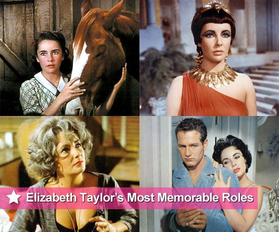10 of Elizabeth Taylor's Most Memorable Film Roles Following News of Her Death at Age 79