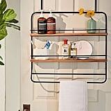 Over-the-Door Tiered Storage Rack
