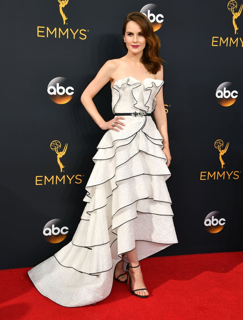 Her Emmy's gown was a sight to behold.