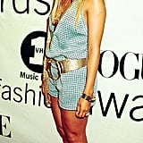 On the Red Carpet For the Vogue Fashion Awards in New York City in October 2000