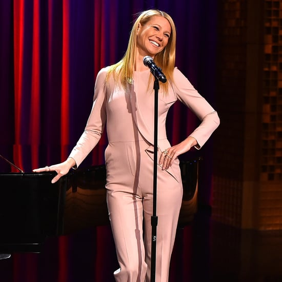 "Gwyneth Paltrow Busts Out Her Impressive Pipes For a Broadway Version of ""Anaconda"""