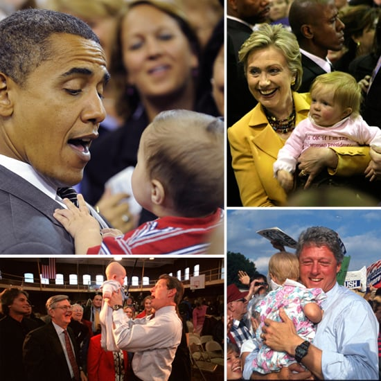 Baby Votes: 16 Pictures of Democrats Holding Babies on the Campaign Trail