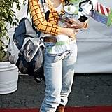 Maria Bello and Son Jackson Blue McDermott