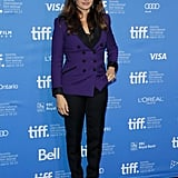 Penelope Cruz posed at the Toronto International Film Festival.