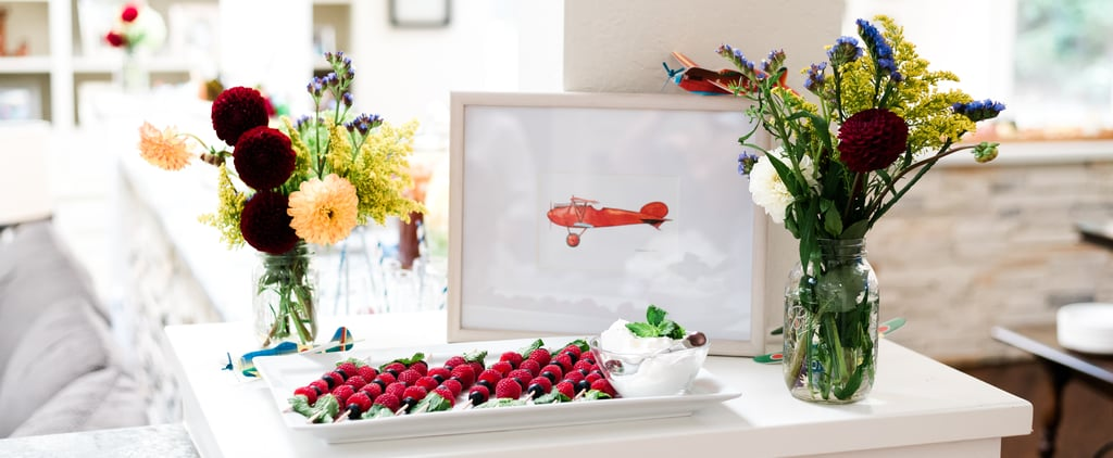 Plane-Themed Baby Shower