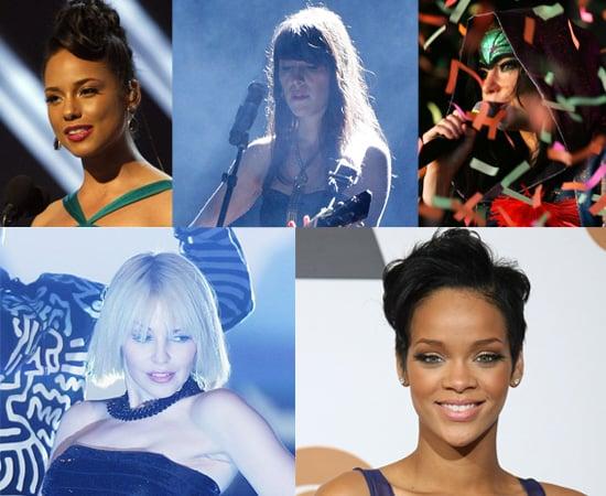 2008 Brit Awards – International Female Artist Nominees