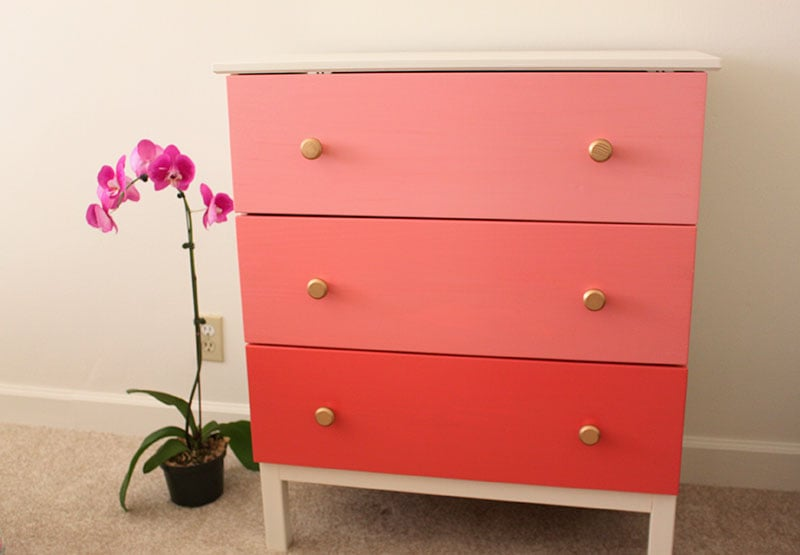 Turn It Into: A Glam Ombré Chest