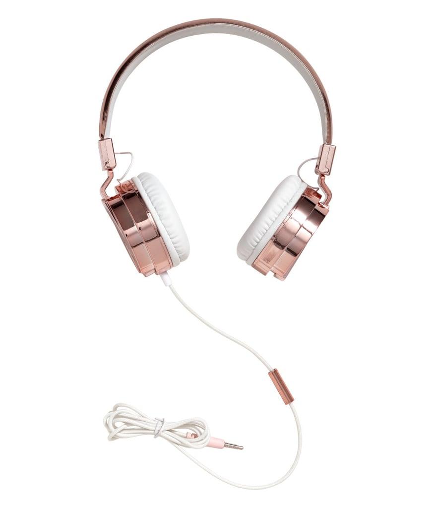 H&M Rose Gold Headphones