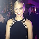 Is black the new black, Taylor Schilling? Source: Instagram user hollywoodreporter