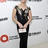 Aly Raisman at the 2020 Elton John AIDS Foundation Academy Oscars Party