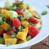 Savory Mango, Cucumber, and Watermelon Fruit Salad