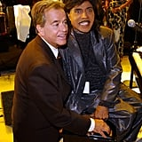In April 2002, Dick Clark and Little Richard worked on a project.