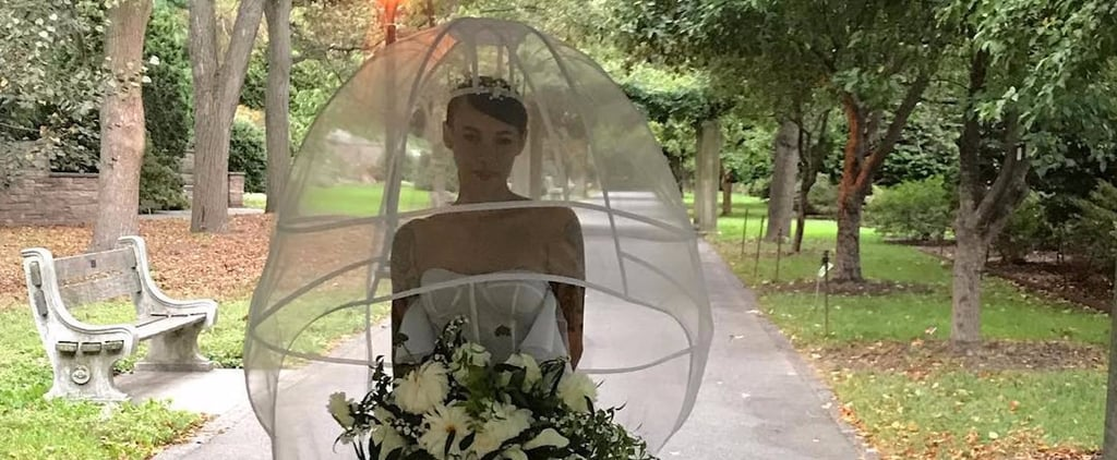 "Your Jaw Will Drop When You See This Bride's ""Veil"""
