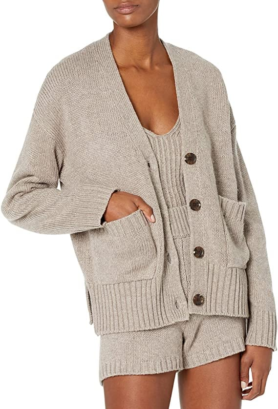 A Transitional Ribbed Cardigan