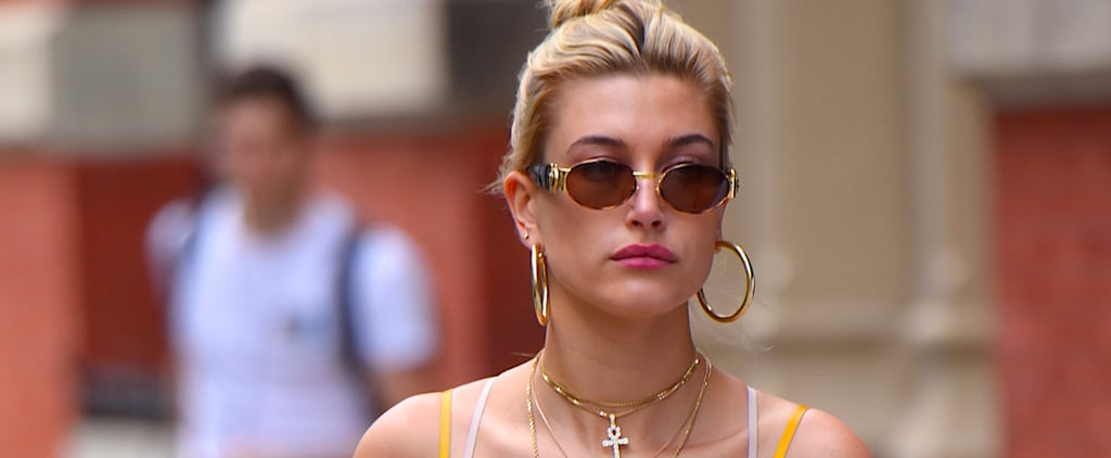 Hailey Baldwin May Have Just Found the Power Swimsuit of the Summer